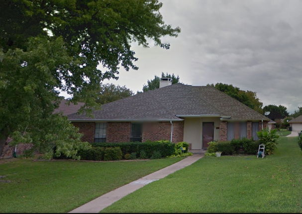 Google streetview of our old house
