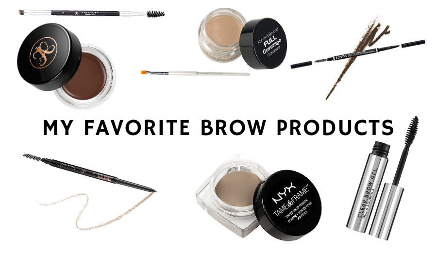 favorite-brow-products